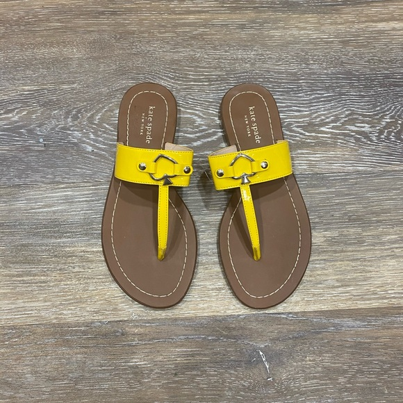 kate spade Shoes | Yellow Sandals
